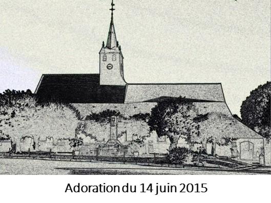 Adoration du 14 juin 2015